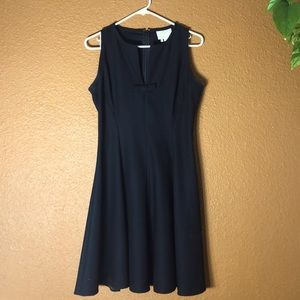 Cute black Kate Spade dress!